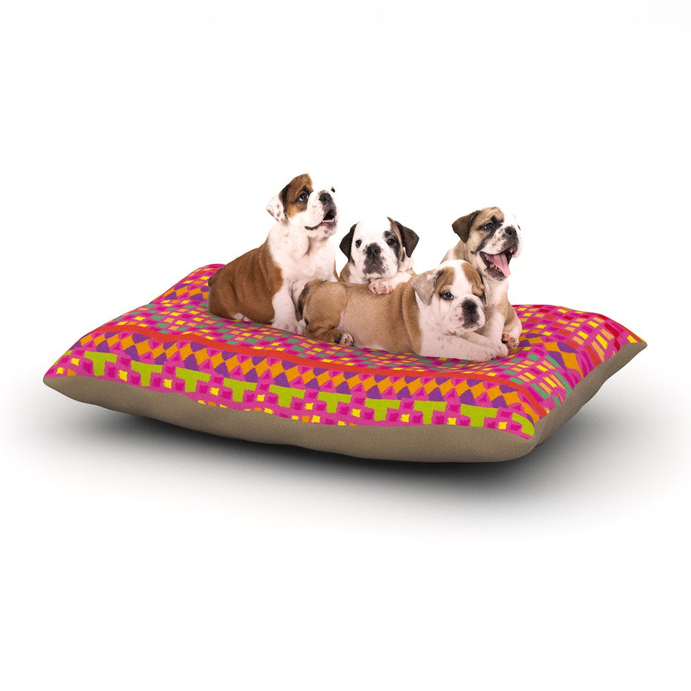 "Nika Martinez ""Mexicalli"" Dog Bed - KESS InHouse  - 1"