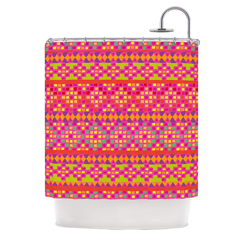 "Nika Martinez ""Mexicalli"" Shower Curtain - Outlet Item"