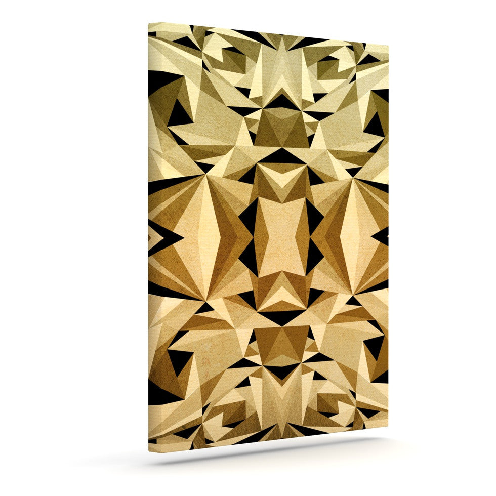 "Nika Martinez ""Abstraction"" Outdoor Canvas Wall Art - KESS InHouse  - 1"