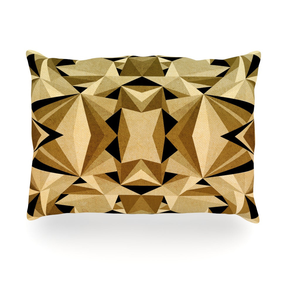 "Nika Martinez ""Abstraction"" Oblong Pillow - KESS InHouse"