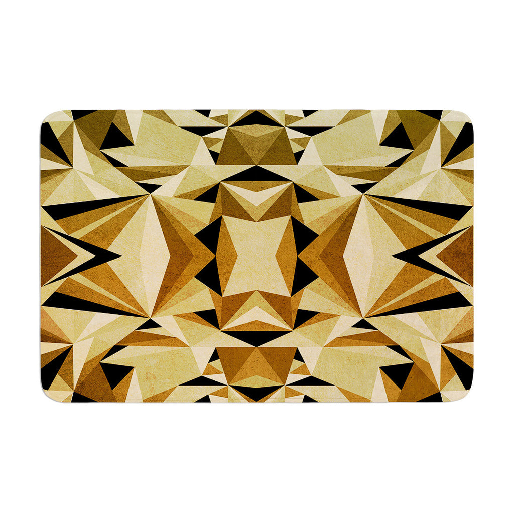 "Nika Martinez ""Abstraction"" Memory Foam Bath Mat - KESS InHouse"