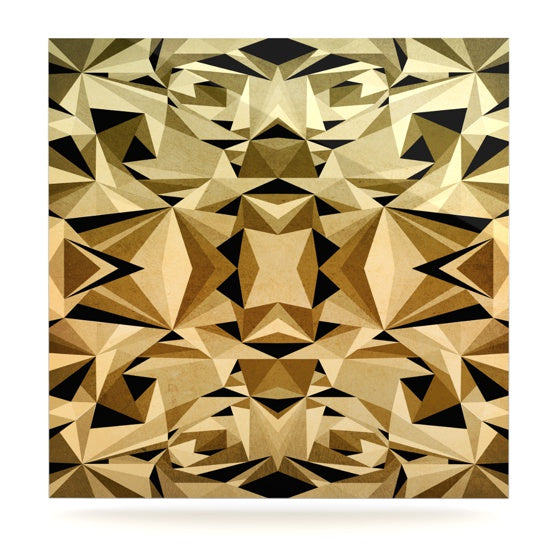 "Nika Martinez ""Abstraction"" Luxe Square Panel - KESS InHouse  - 1"