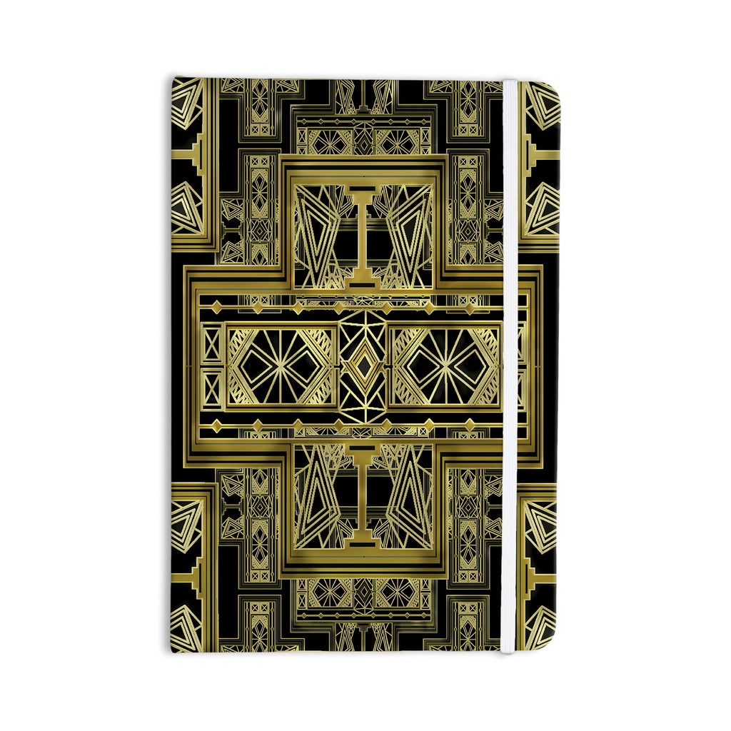 "Nika Martinez ""Golden Art Deco"" Everything Notebook - KESS InHouse  - 1"