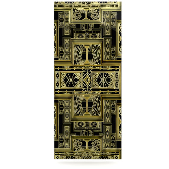"Nika Martinez ""Golden Art Deco"" Luxe Rectangle Panel - KESS InHouse  - 1"