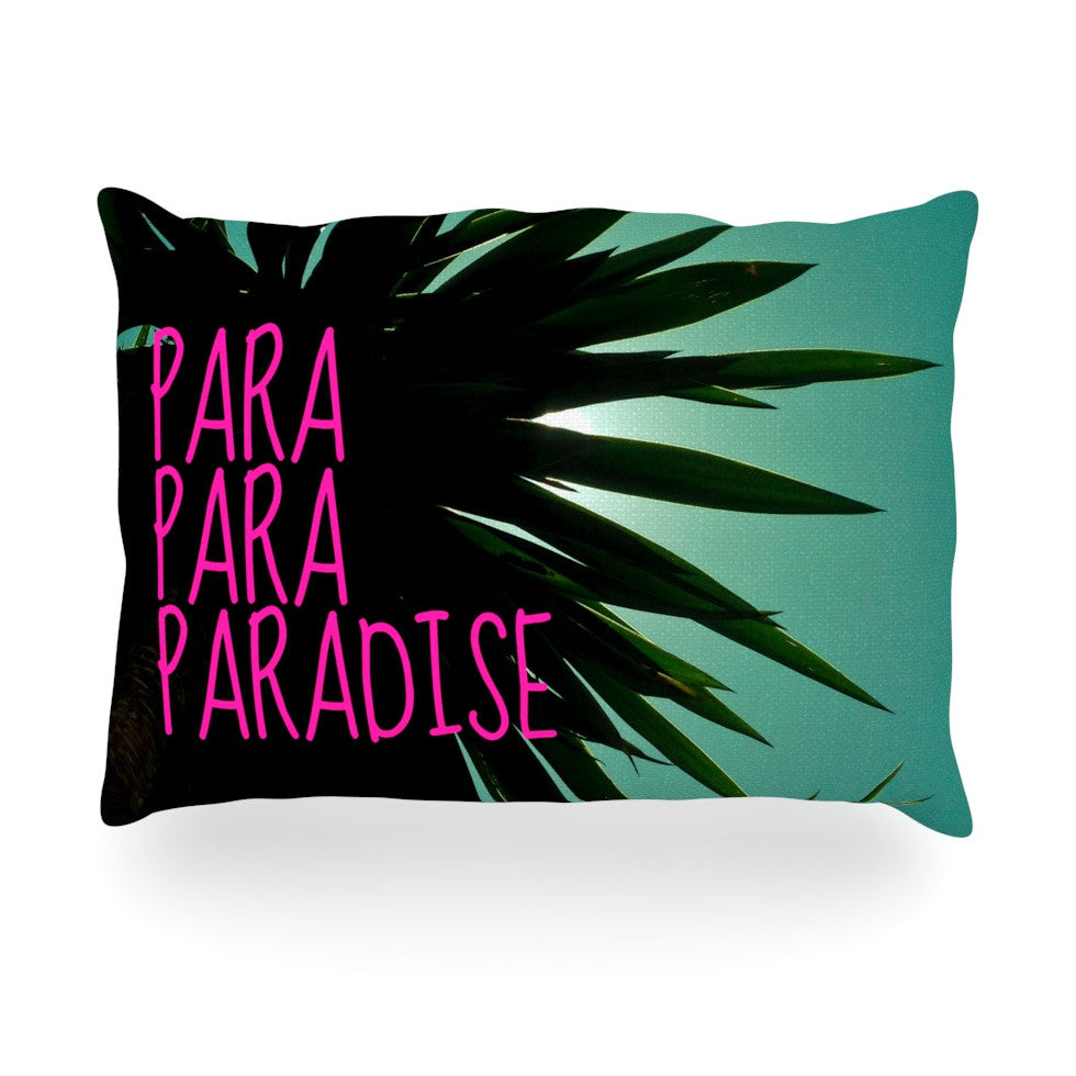 "Nika Martinez ""Exotic Paradise"" Oblong Pillow - KESS InHouse"