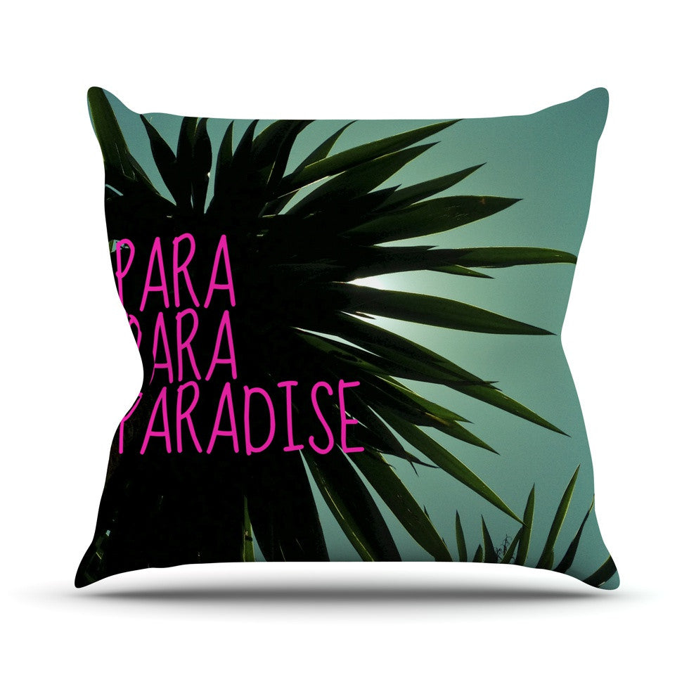 "Nika Martinez ""Exotic Paradise"" Throw Pillow - KESS InHouse  - 1"