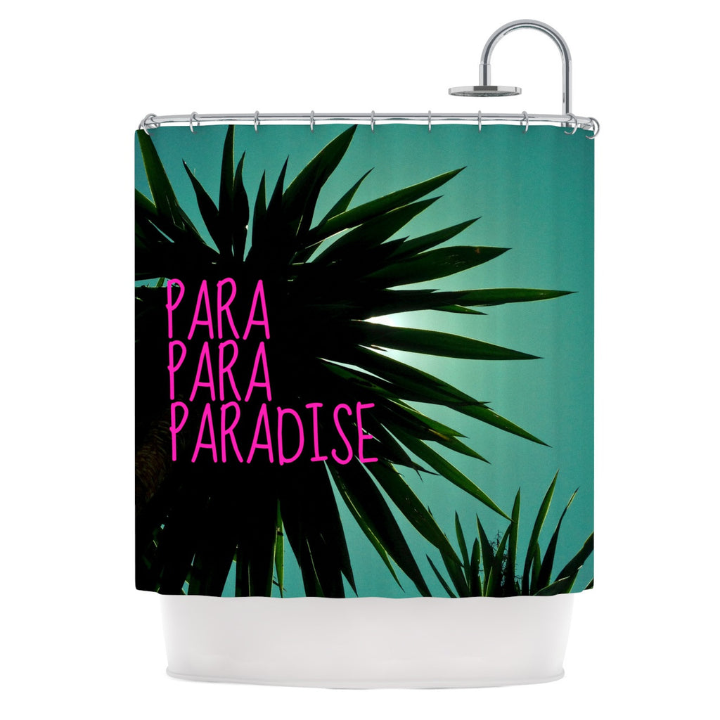 "Nika Martinez ""Exotic Paradise"" Shower Curtain - KESS InHouse"