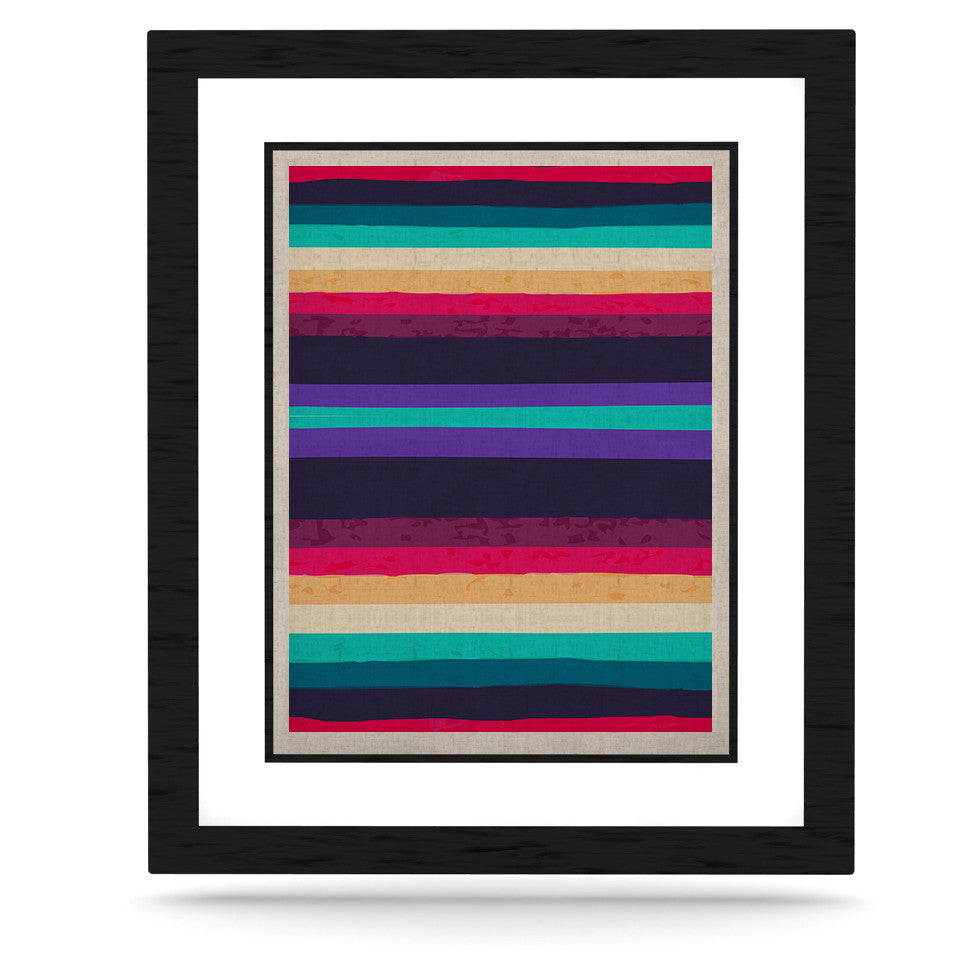 "Nika Martinez ""Surf Stripes"" KESS Naturals Canvas (Frame not Included) - KESS InHouse  - 1"