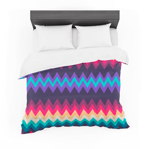 "Nika Martinez ""Surf Chevron"" Cotton Duvet"