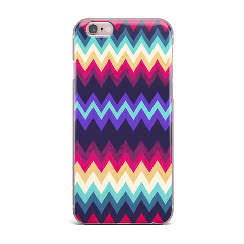"Nika Martinez ""Surf Chevron"" iPhone Case - KESS InHouse"