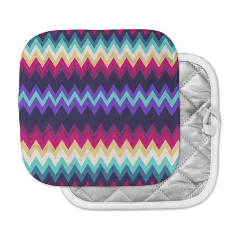 "Nika Martinez ""Surf Chevron"" Pot Holder"