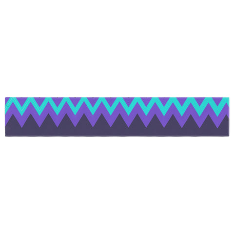 "Nika Martinez ""Surf Chevron"" Table Runner - KESS InHouse  - 1"