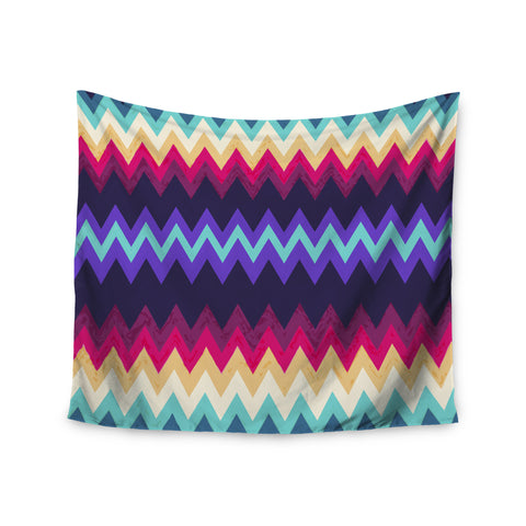 "Nika Martinez ""Surf Chevron"" Wall Tapestry - KESS InHouse  - 1"