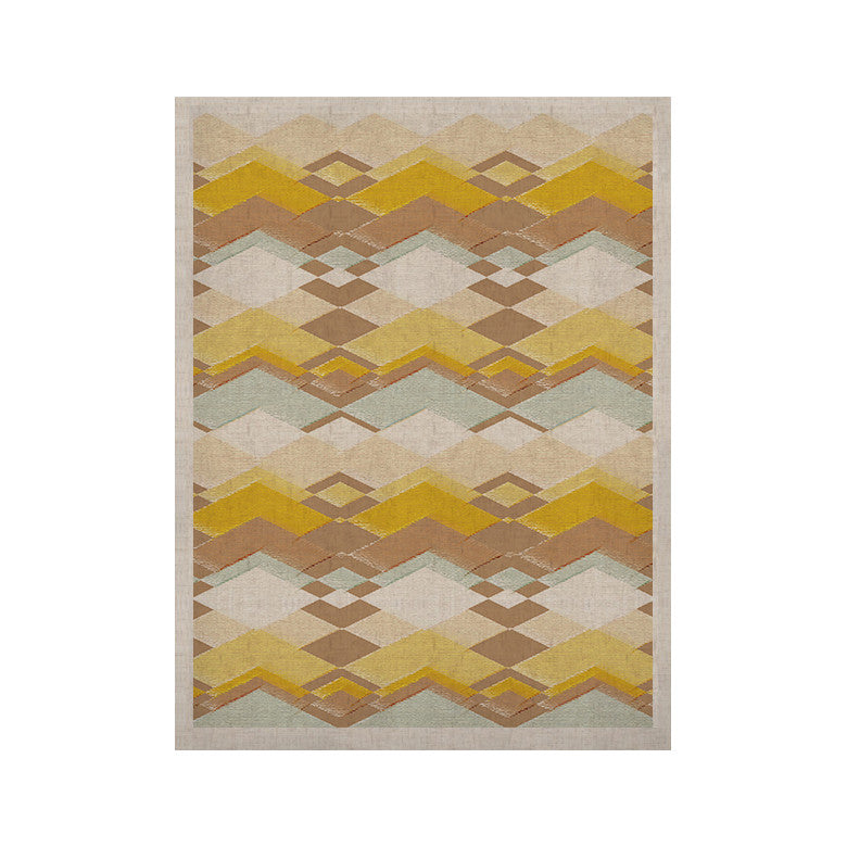 "Nika Martinez ""Retro Desert"" KESS Naturals Canvas (Frame not Included) - KESS InHouse"