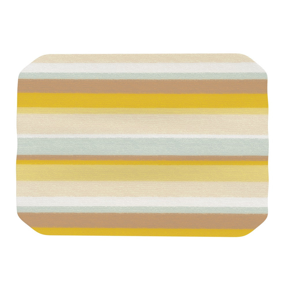 "Nika Martinez ""Desert Stripes"" Place Mat - KESS InHouse"
