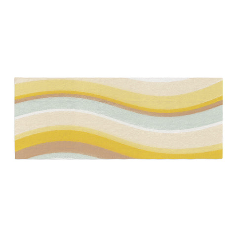 "Nika Martinez ""Desert Waves"" Bed Runner - KESS InHouse"