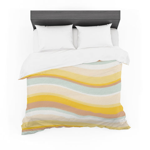 "Nika Martinez ""Desert Waves"" Cotton Duvet"