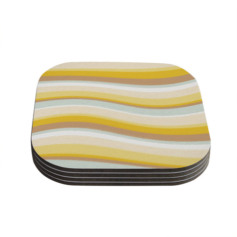 "Nika Martinez ""Desert Waves"" Coasters (Set of 4)"