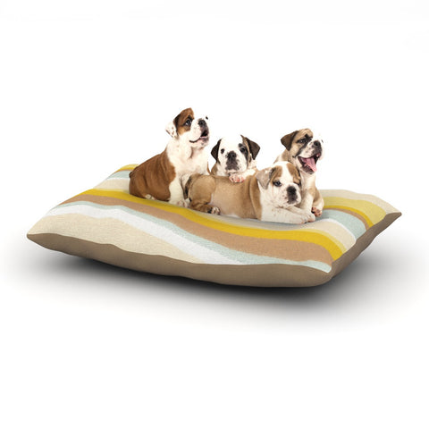 "Nika Martinez ""Desert Waves"" Dog Bed - KESS InHouse  - 1"