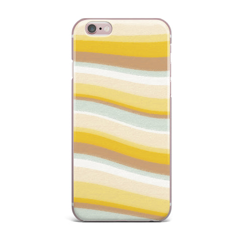 "Nika Martinez ""Desert Waves"" iPhone Case - KESS InHouse"
