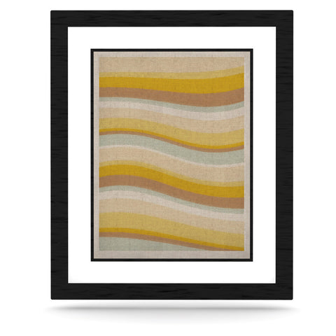 "Nika Martinez ""Desert Waves"" KESS Naturals Canvas (Frame not Included) - KESS InHouse  - 1"