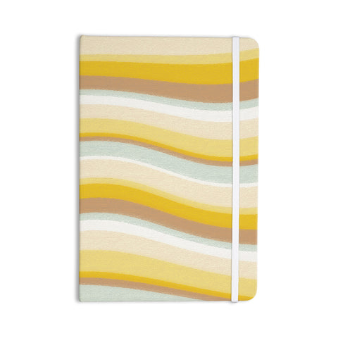 "Nika Martinez ""Desert Waves"" Everything Notebook - KESS InHouse  - 1"