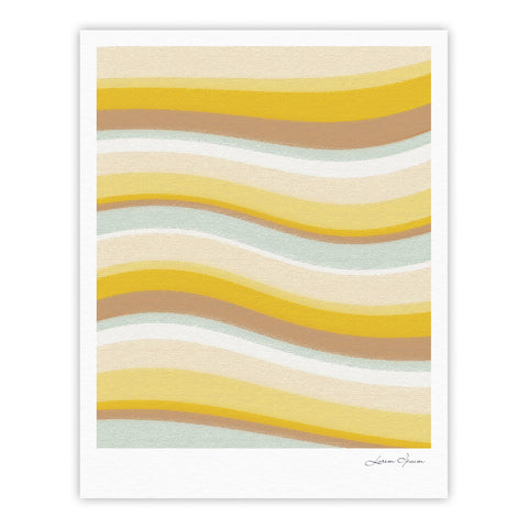 "Nika Martinez ""Desert Waves"" Fine Art Gallery Print - KESS InHouse"