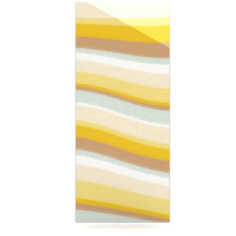"Nika Martinez ""Desert Waves"" Luxe Rectangle Panel - KESS InHouse  - 1"