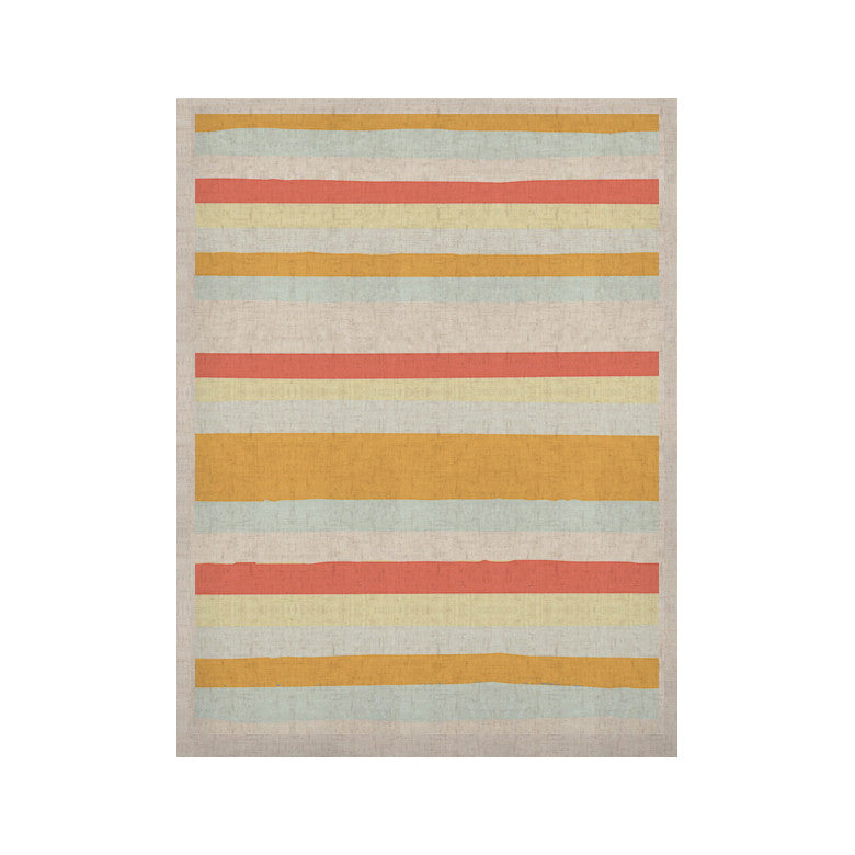 "Nika Martinez ""Sand Stripes"" KESS Naturals Canvas (Frame not Included) - KESS InHouse  - 1"