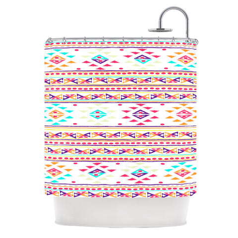 "Nika Martinez ""Aylen"" Tribal Shower Curtain - Outlet Item - KESS InHouse"
