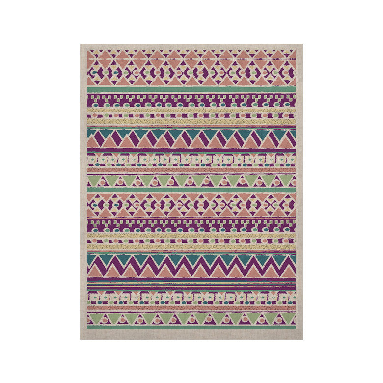 "Nika Martinez ""Boho Ibiza"" Pastel Pink KESS Naturals Canvas (Frame not Included) - KESS InHouse  - 1"