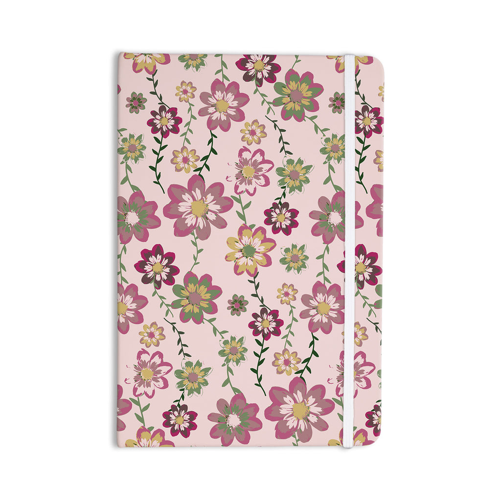 "Nika Martinez ""Romantic Flowers in Pink"" Blush Floral Everything Notebook - KESS InHouse  - 1"