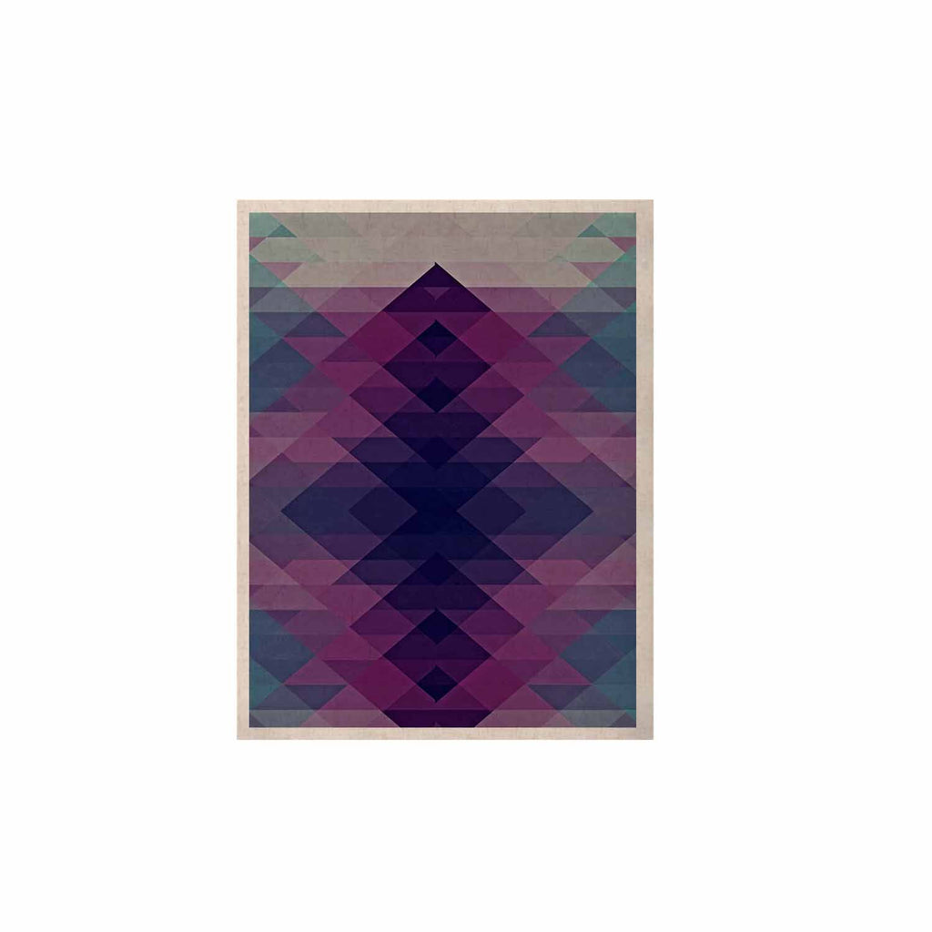 "Nika Martinez ""Hipsterland II"" Purple Teal KESS Naturals Canvas (Frame not Included) - KESS InHouse  - 1"