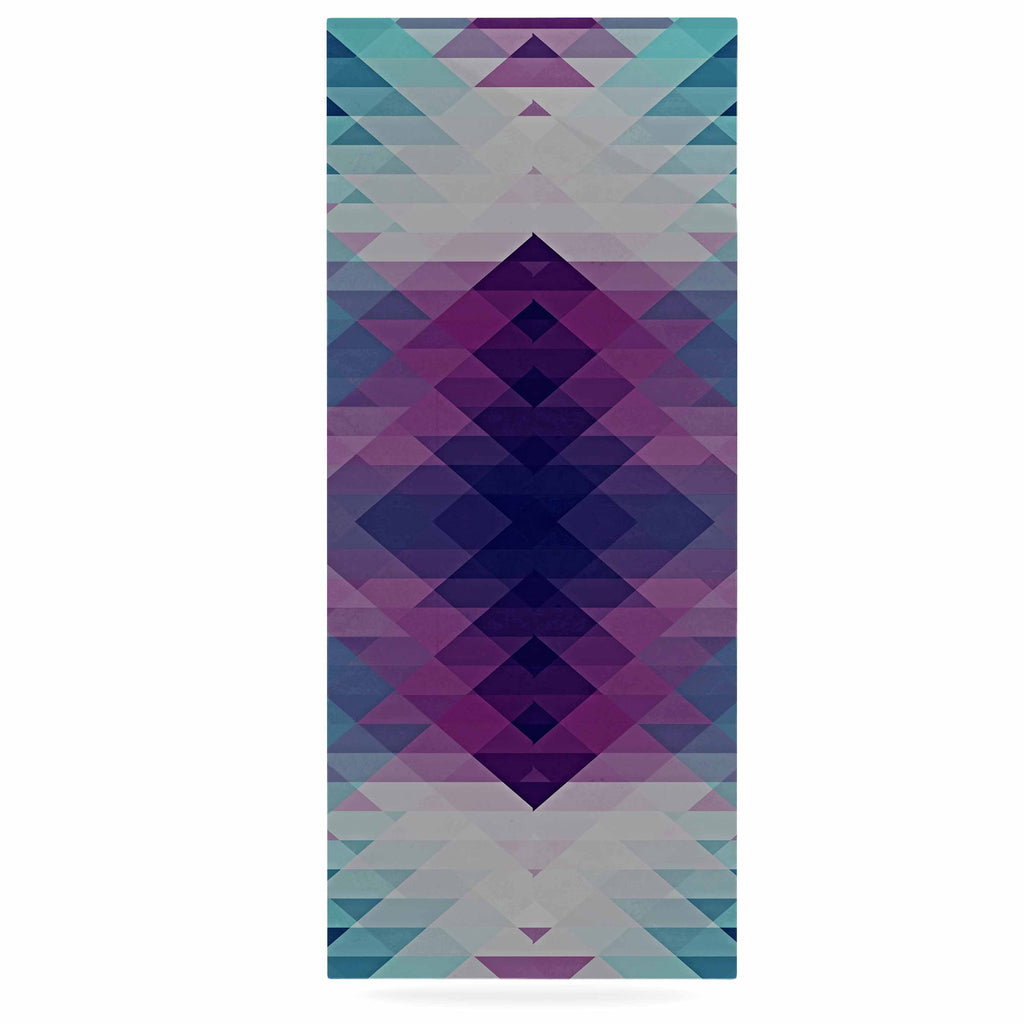 "Nika Martinez ""Hipsterland II"" Purple Teal Luxe Rectangle Panel - KESS InHouse  - 1"