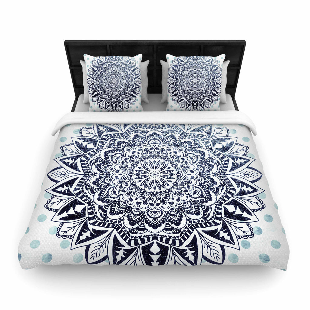 "Nika Martinez ""DOTS MANDALA"" Woven Duvet - Outlet Item"