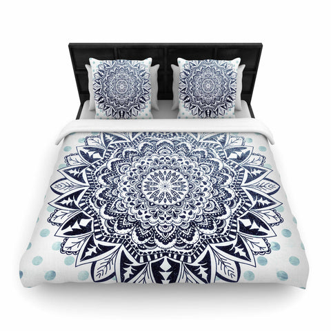 "Nika Martinez ""DOTS MANDALA""  Woven Duvet Cover - Outlet Item"