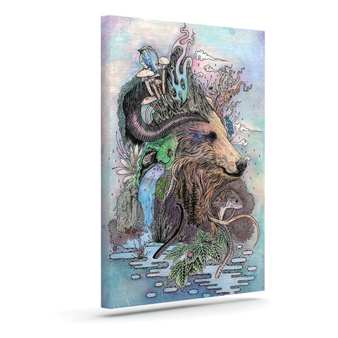 "Mat Miller ""Forest Warden"" Art Canvas - Outlet Item"
