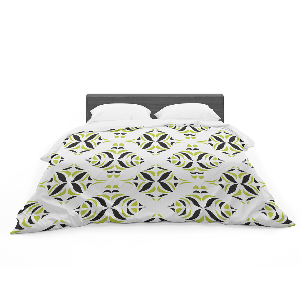 "Miranda Mol ""Lime Green Rainforest"" Cotton Duvet"