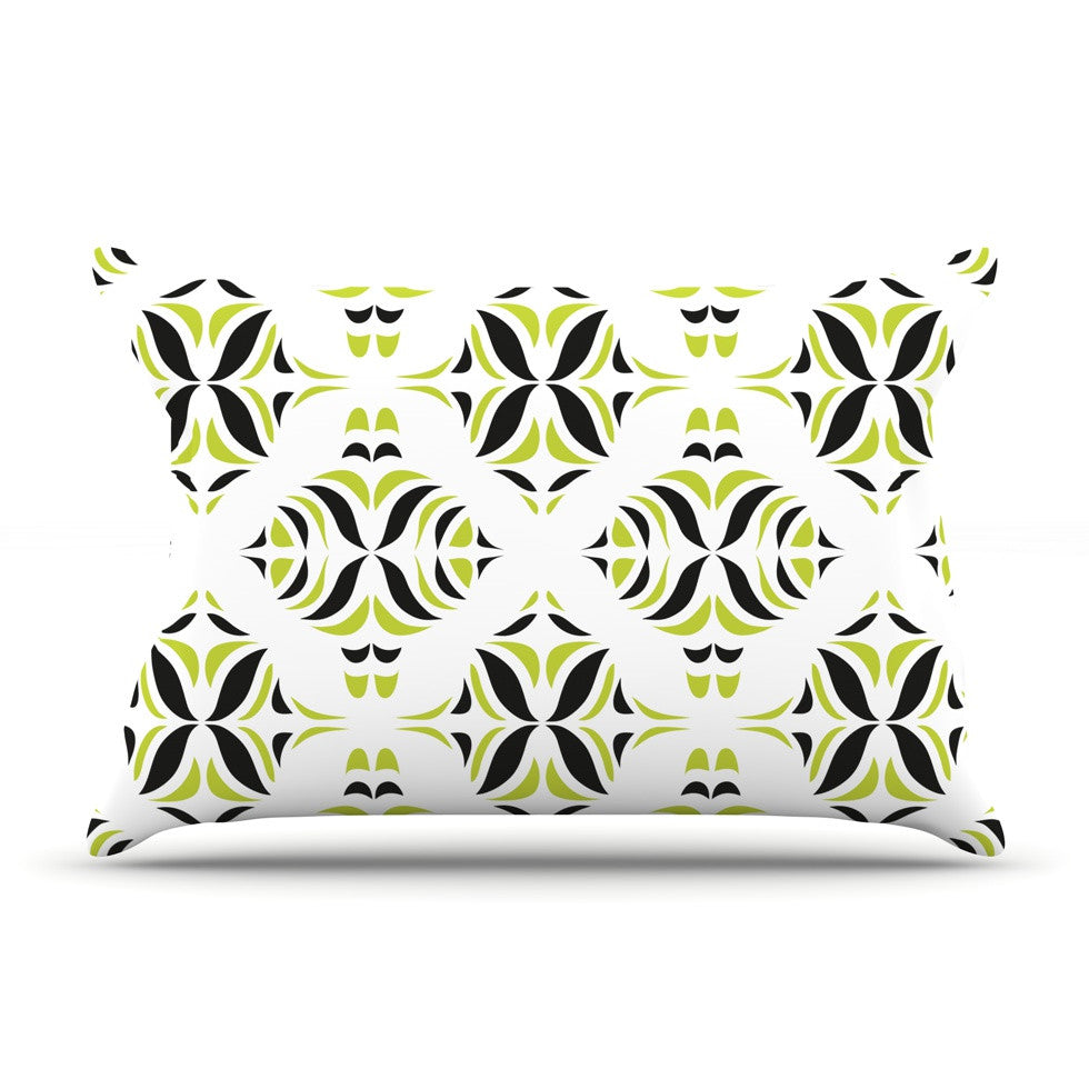 "Miranda Mol ""Lime Green Rainforest"" Pillow Sham - KESS InHouse"
