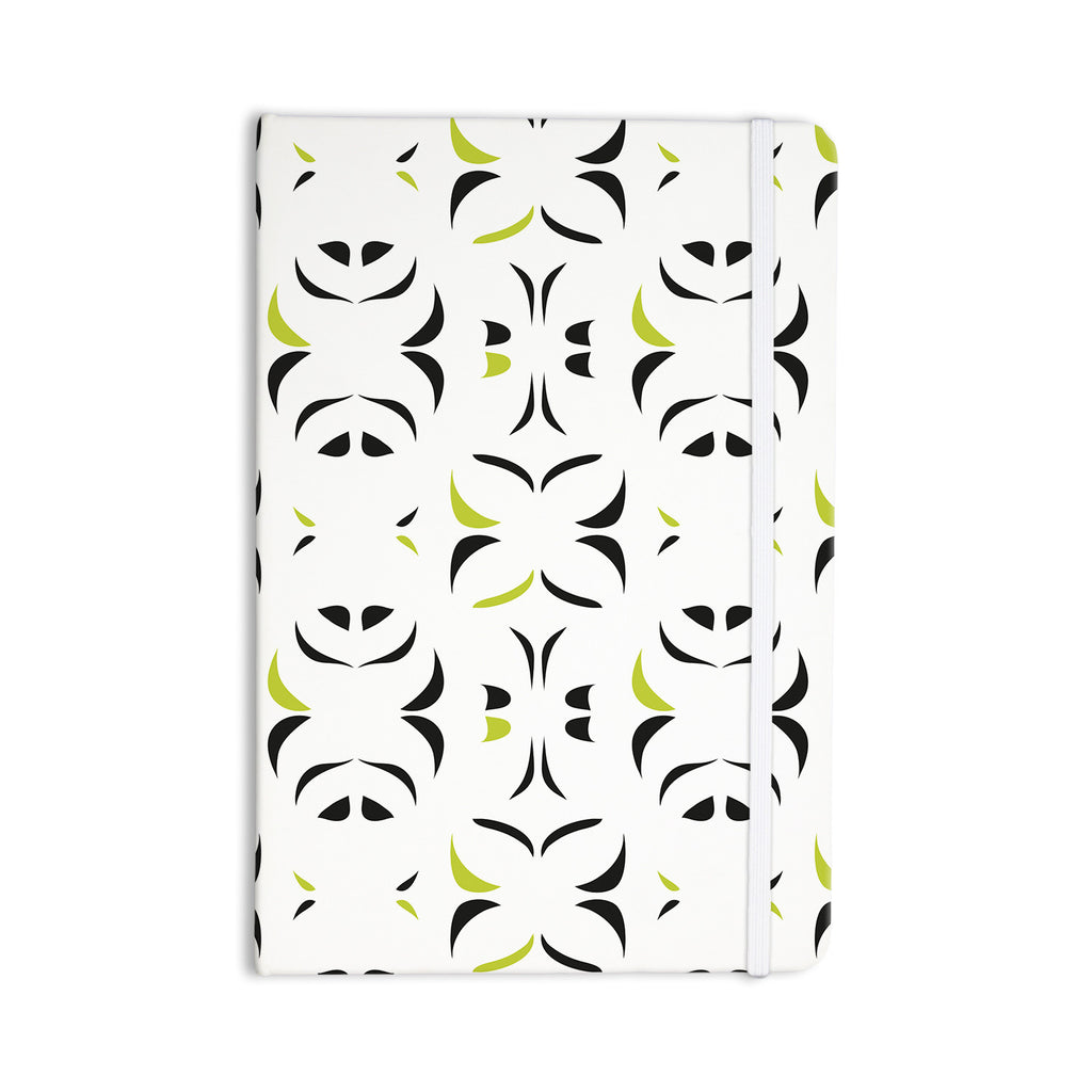 "Miranda Mol ""Retro Green Snow Storm"" Everything Notebook - KESS InHouse  - 1"