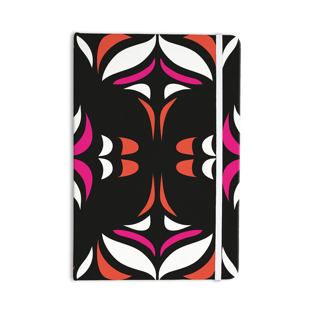 "Miranda Mol ""Magenta Orange Hawaiian Retro"" Everything Notebook - KESS InHouse  - 1"