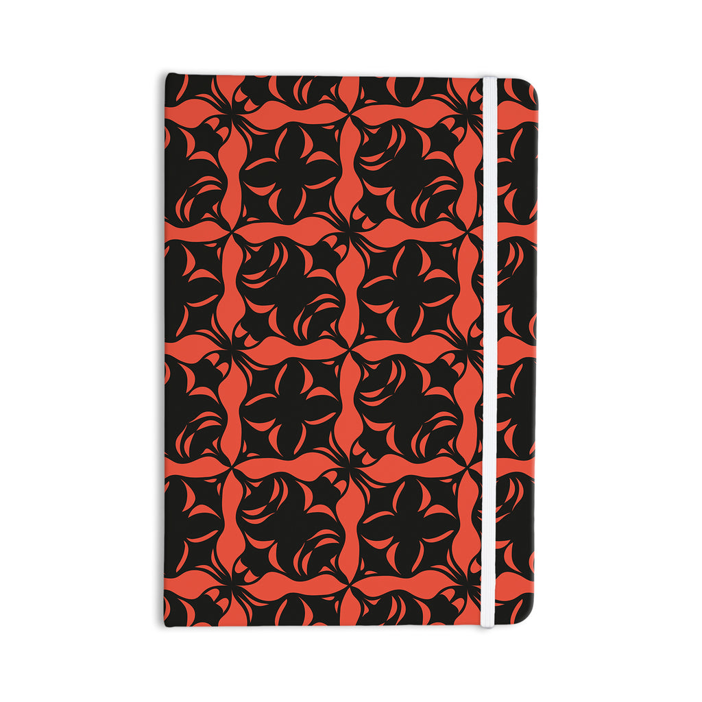"Miranda Mol ""Oval Orange Love"" Everything Notebook - KESS InHouse  - 1"