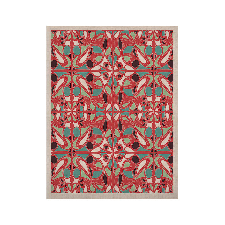 "Miranda Mol ""Stained Glass Pink"" KESS Naturals Canvas (Frame not Included) - KESS InHouse  - 1"