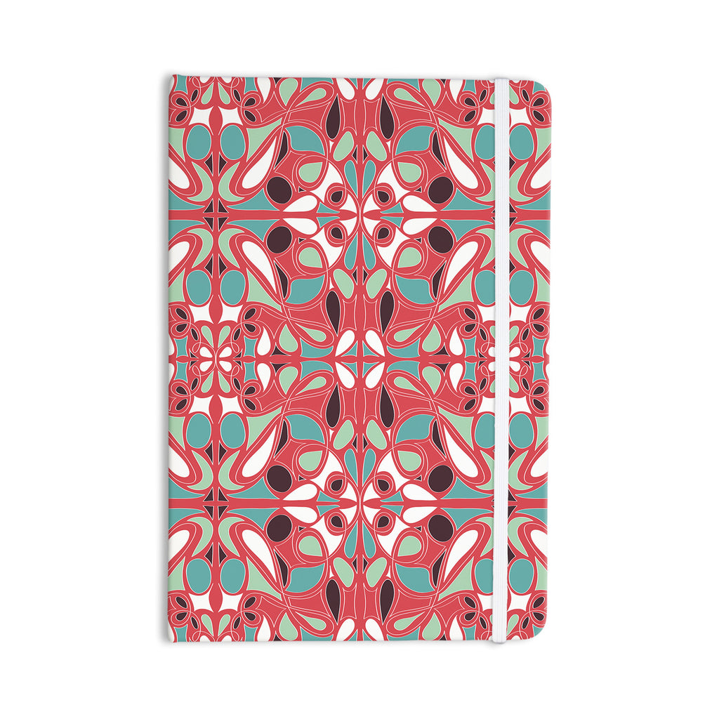 "Miranda Mol ""Stained Glass Pink"" Everything Notebook - KESS InHouse  - 1"