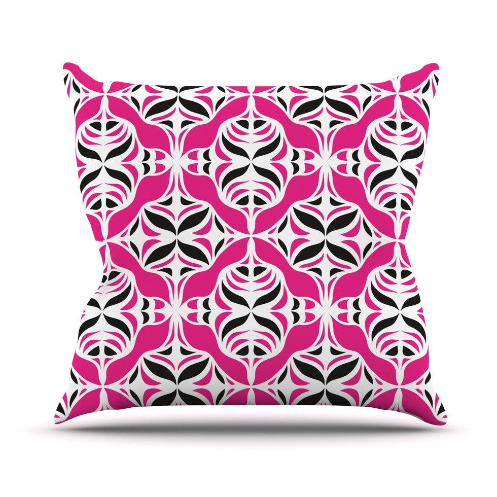 "Miranda Mol ""Think Pink"" Throw Pillow - KESS InHouse  - 1"