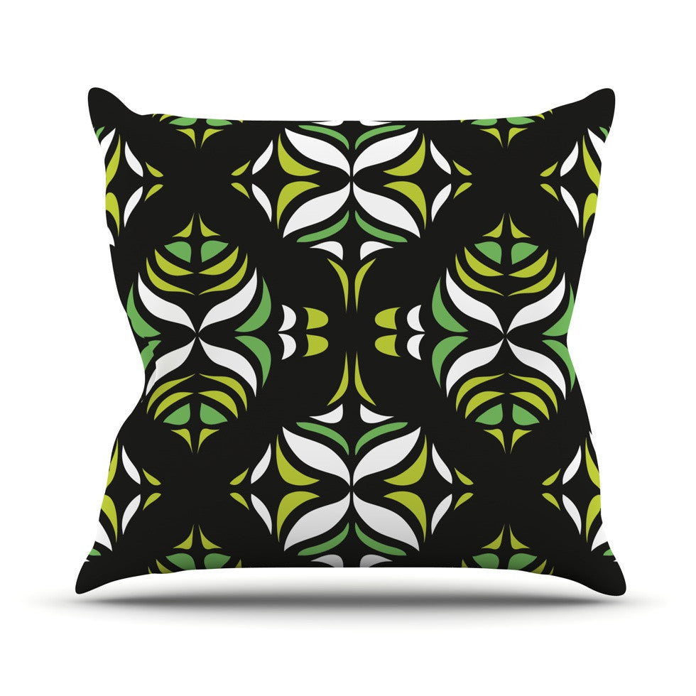 "Miranda Mol ""Retro Train"" Throw Pillow - KESS InHouse  - 1"