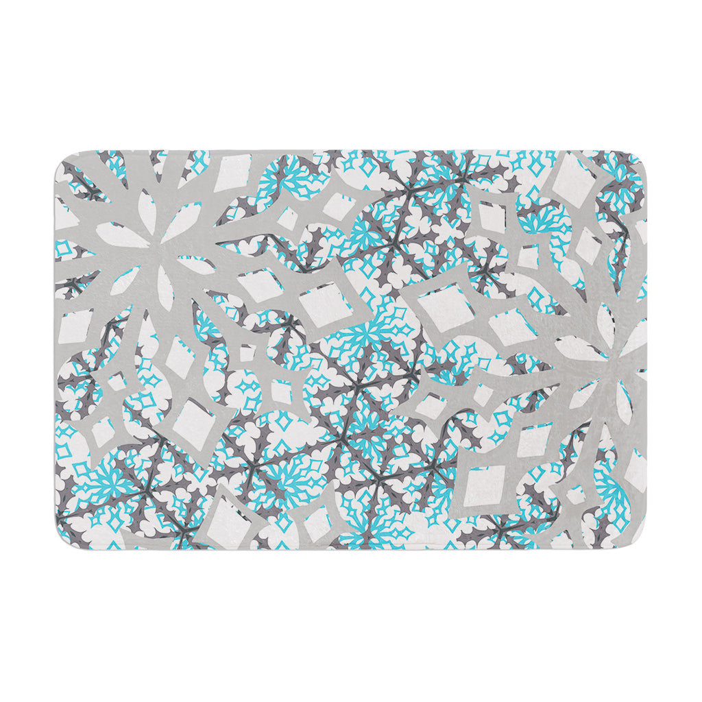 "Miranda Mol ""Chilly"" Memory Foam Bath Mat - KESS InHouse"
