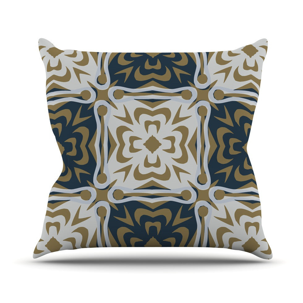 "Miranda Mol ""Contemporary Granny"" Outdoor Throw Pillow - KESS InHouse  - 1"