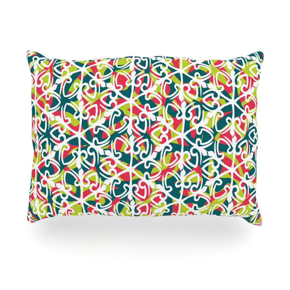 "Miranda Mol ""Cool Yule"" Oblong Pillow - KESS InHouse"