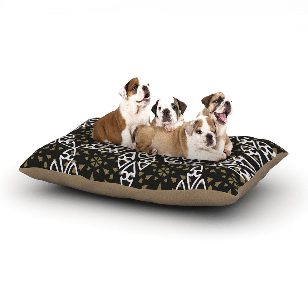 "Miranda Mol ""Ethnical Snowflakes"" Dog Bed - KESS InHouse  - 1"